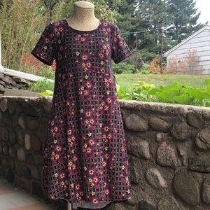 LuLaRoe Carly High-Low Dress Floral
